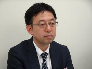 事業の特色について語る平石社長