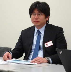 ドローンへの理解促進に意欲を見せる太田社長